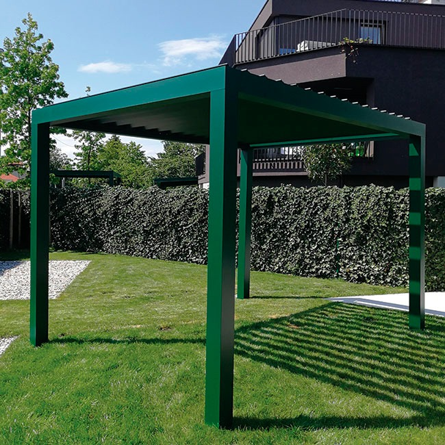 an example of a pergola from Ljubljana