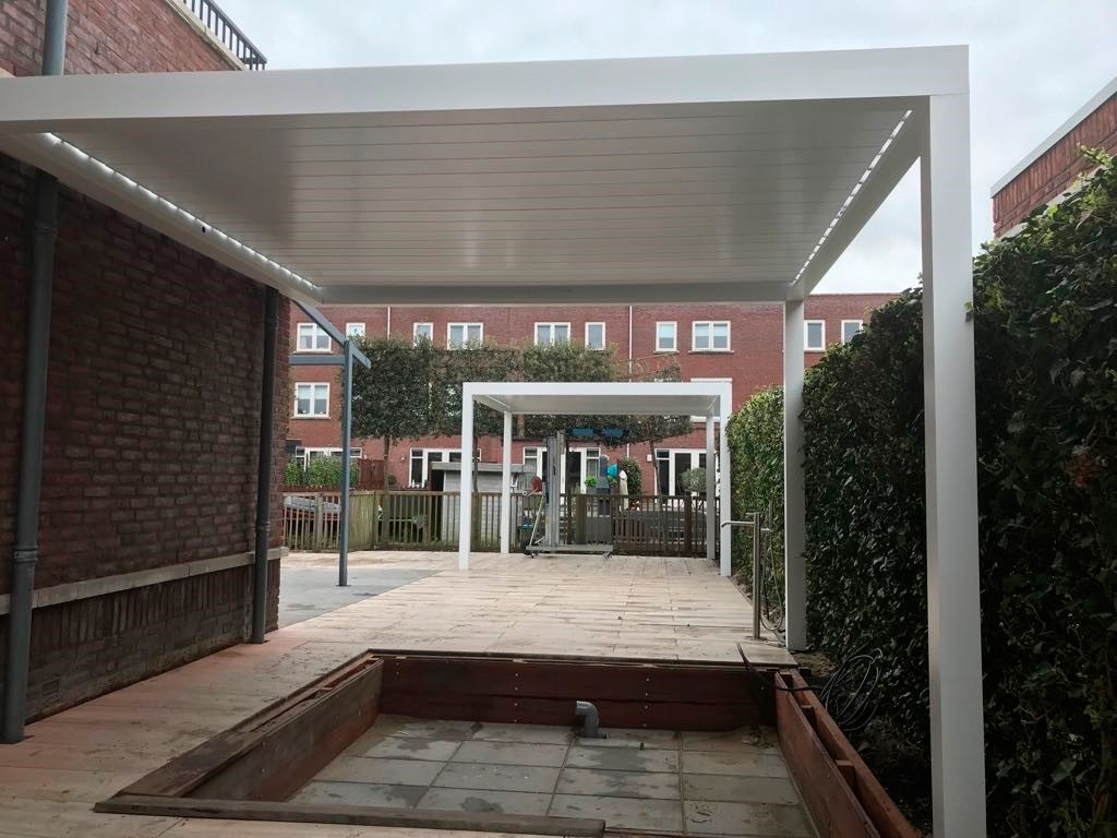 an example of a pergola from Netherlands