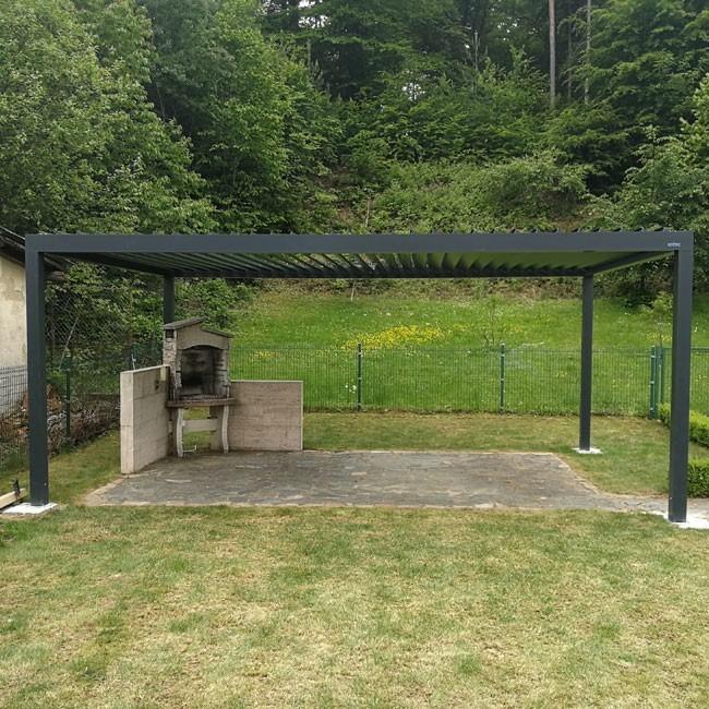 Gartenpergola aus Slowenien