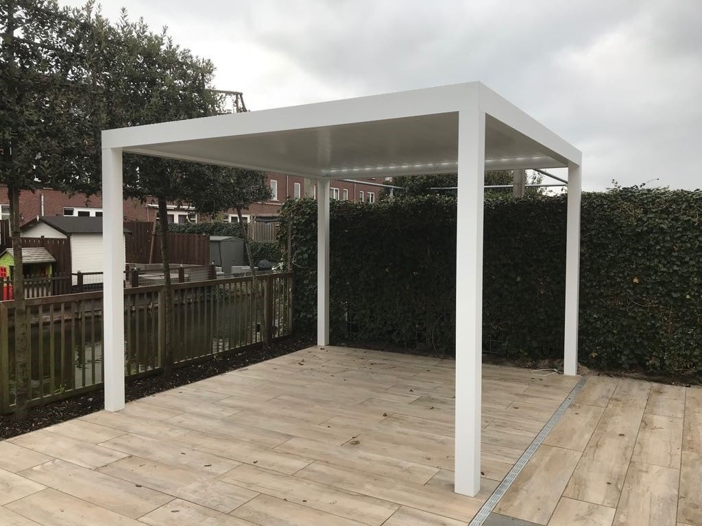 a small 3x3 pergola from the Netherlands