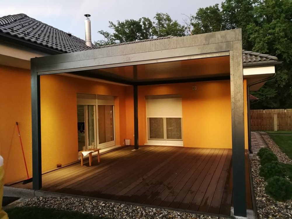 an example of another 3x3 pergola in Slovenia
