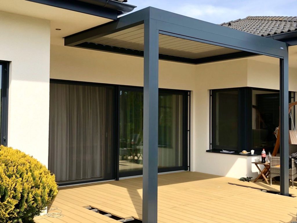 an attached 3x4 pergola from Austria