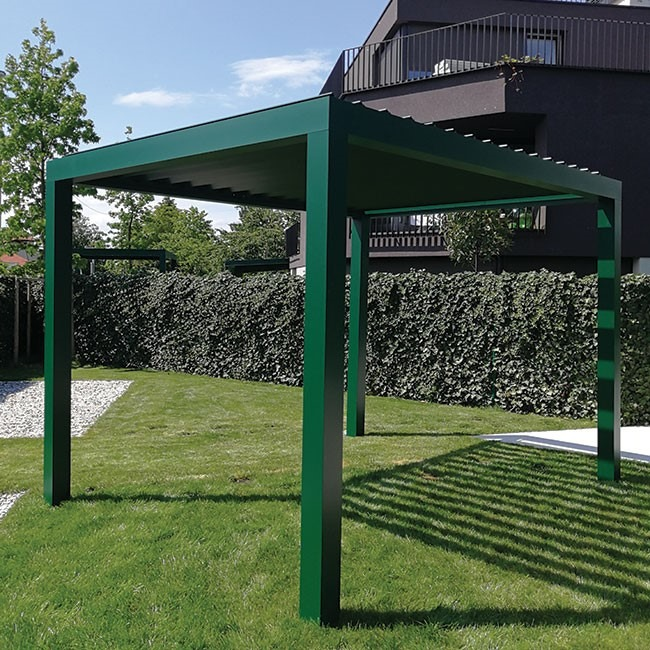 a basic freestanding pergola from Ljubljana