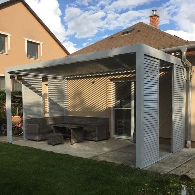 pergola attached to house from Hungary
